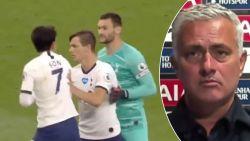 """Lloris en Son vliegen elkaar in de haren, tot jolijt van Mourinho: """"Brave jongens winnen enkel Fair Play Cups"""""""