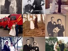 800 Vinkelse trouwfoto's op een rij: een feest van herkenning