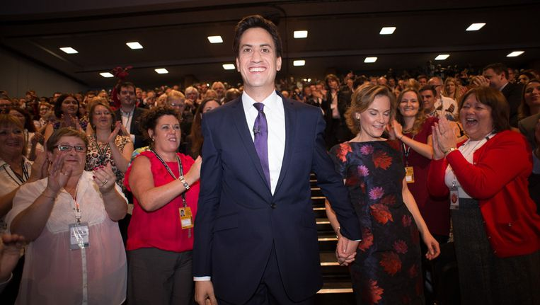 Ed Miliband Beeld getty