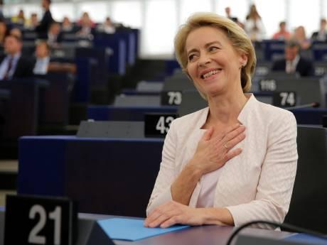 Ursula von der Leyen élue de justesse présidente de la Commission européenne