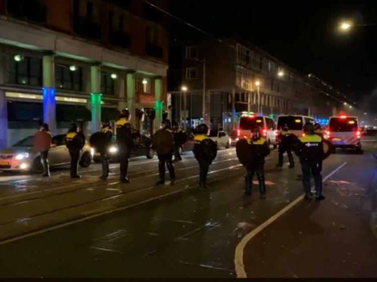 Angst zit erin na rellen in de Haagse Schilderswijk
