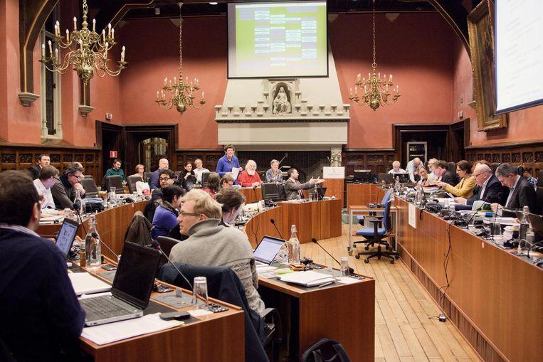 De deontologische commissie in nieuwe stijl werd na een uur al opgedoekt.