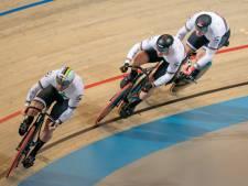Teamsprinters Lavreysen, Van den Berg en Hoogland prolongeren overtuigend Europese titel