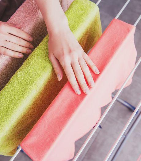 Staat bij jou thuis ook altijd het wasrekje in de weg? Zo los je dat op