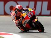 Marquez pakt pole in Assen, voor Crutchlow en Rossi