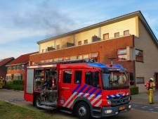 Flinke schade bij woningbrand in Glanerbrug