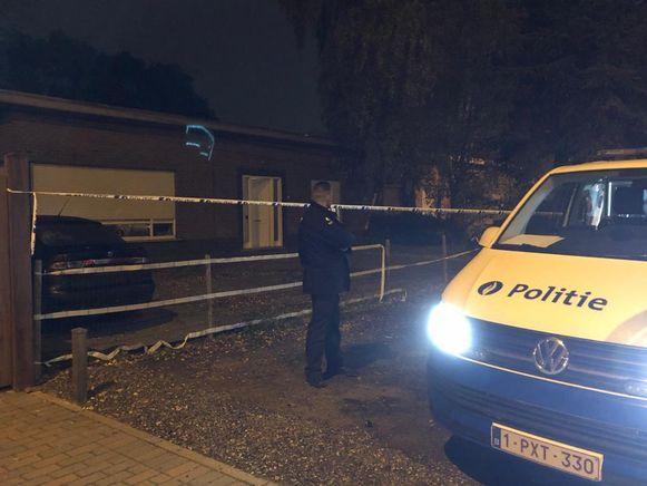 In deze woning in de Staatsbaan in Zulte zijn twee personen om het leven gekomen door een CO-vergiftiging.