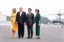 Donal Trump et Melania Trump en visite au Japon