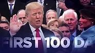 Trump spendeert 1,5 miljoen dollar aan spot om eerste 100 dagen in de verf te zetten