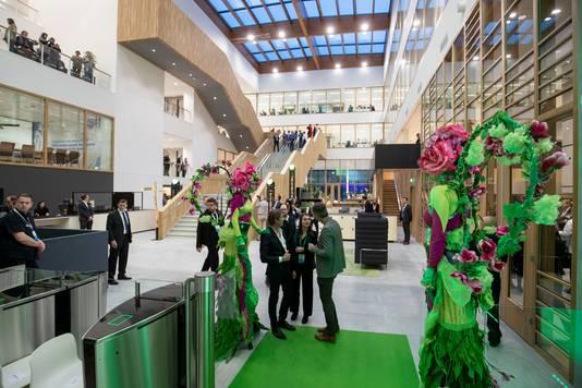 Het onderzoekscentrum van Unilever.