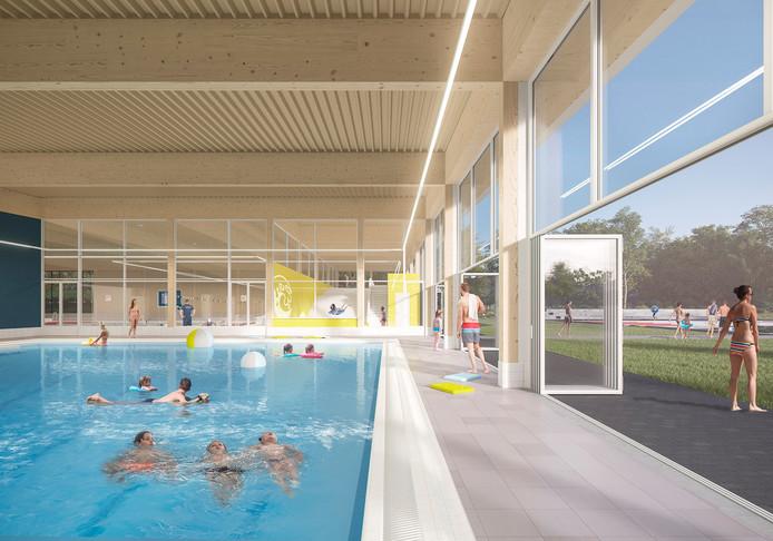 Impressie zwembad De Kuil in Bodegraven