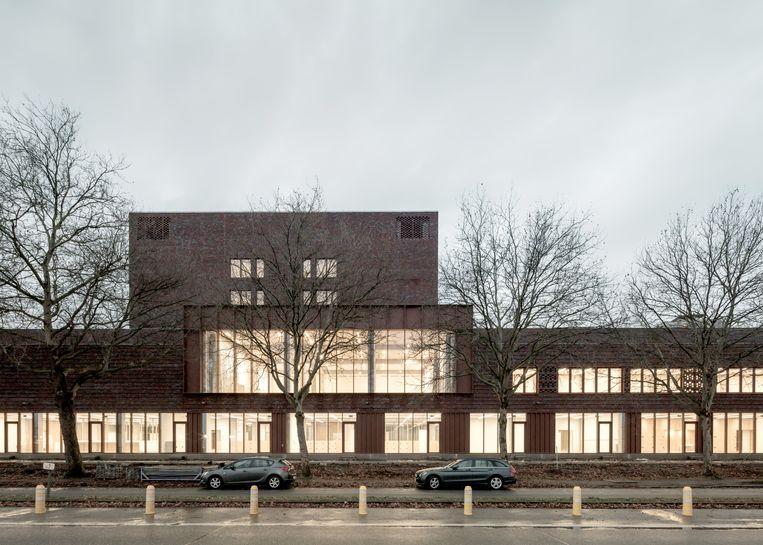 Het nieuwe campusgebouw van 7.300 m² zal voortaan onderdak geven aan 1.600 PXL-studenten.