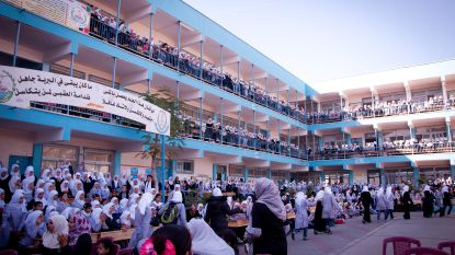 De Croo zet samenwerking voor Palestijnse scholen stop