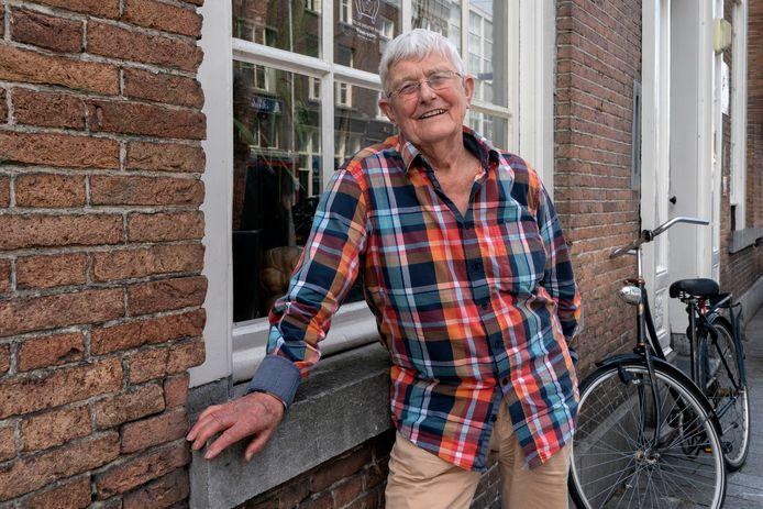 Bob van Helsdingen, vrijwilliger bij Het Inloopschip in Den Bosch.