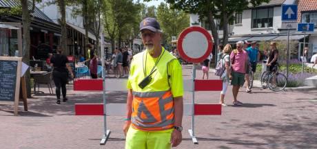 Centrum Domburg weer open door gebrek aan toeristen
