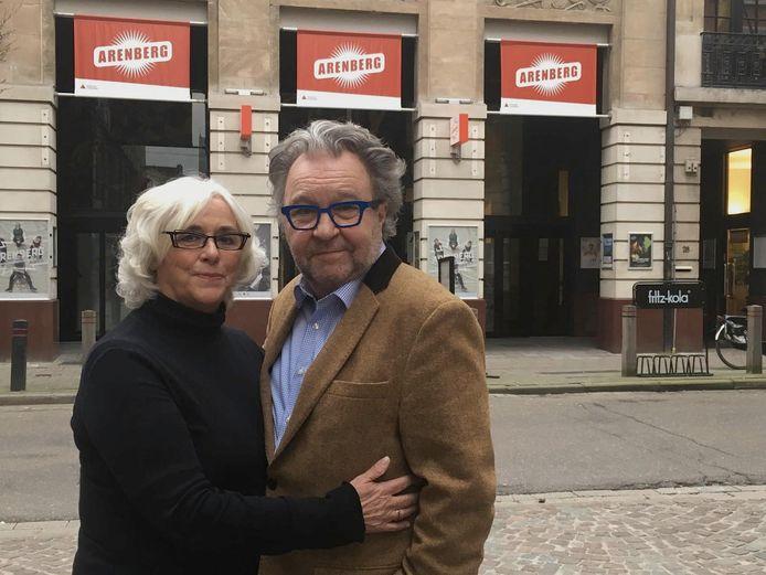 Nicole Laurent en Ruud De Ridder voor de Antwerpse Arenberg.