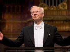 Dirigent Bernard Haitink (90) voor de allerlaatste keer op de bok