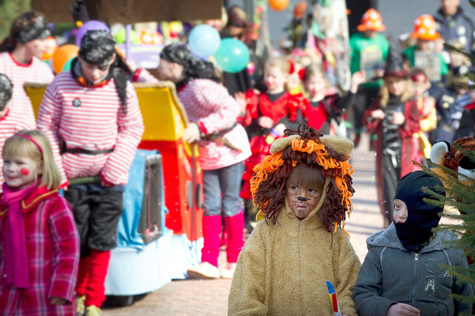 Carnaval in Puiflijk.
