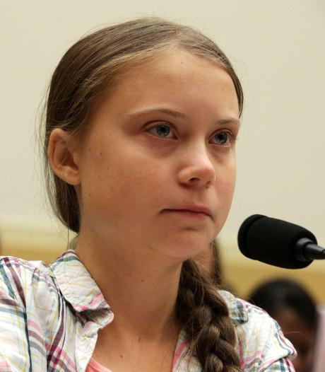 """""""Je veux que vous agissiez"""": Greta Thunberg interpelle le Congrès américain"""