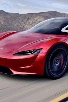 'Nieuwe Tesla Roadster krijgt stuwraketten aan boord'