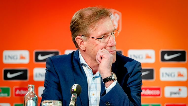Hans van Breukelen maakte gisteren bekend op te stappen als technisch directeur van de KNVB. Beeld anp