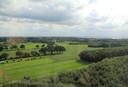 Bezoekers aan de Open Monumentendag konden zaterdag vanuit de watertoren in Sint Jansklooster onder andere genieten van dit uitzicht.