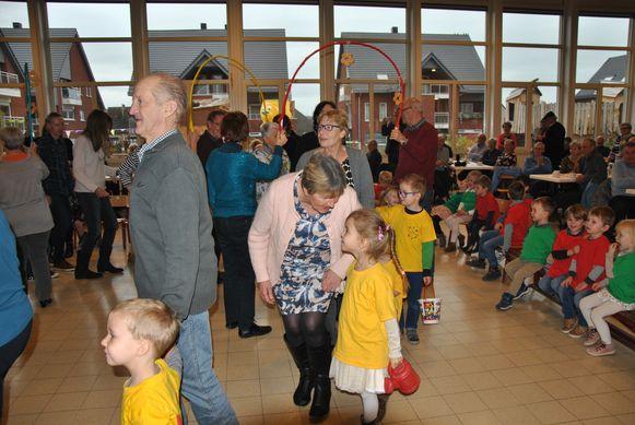 Grootoudersfeest in VBS Borsbeke.