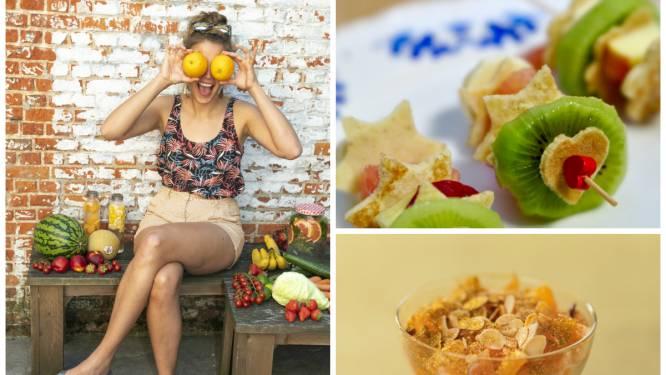Diëtiste Sanne Mouha deelt recepten en tips voor fruitig gezonde lockdownvoeding boordevol vitaminen