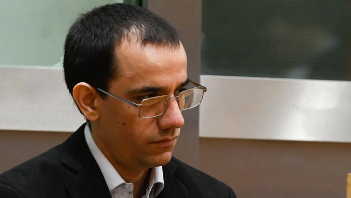 Jérémy Pierson, lors de son procès