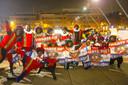 Pro-pietendemonstranten in Eindhoven