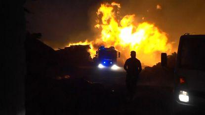 Vier brandweermannen gewond door bosbranden Portugal