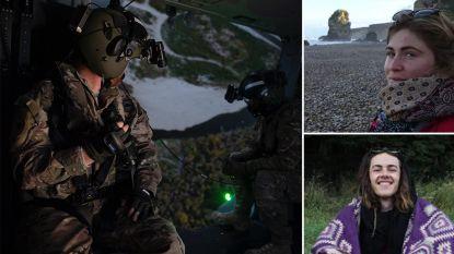 Trekkers levend teruggevonden nadat ze 18 dagen geleden verdwenen in wildernis