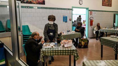 Steeds meer daklozen kloppen aan bij Kamiano-restaurants voor warme maaltijd