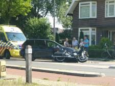 Motorrijder gewond bij ongeluk in Bornerbroek