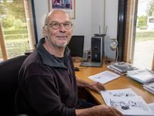 Bob Bruns uit Westerhoven tekent en illustreert zonnestraaltjes in coronatijd