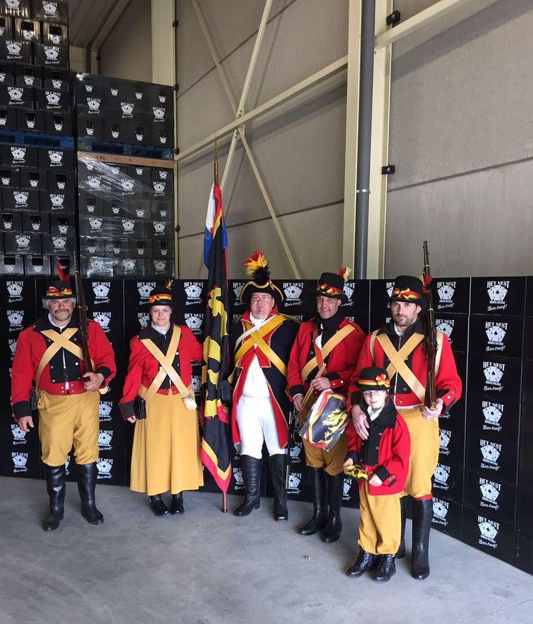 De Turnhoutse patriotten kwamen ook langs.