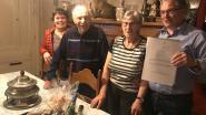 Jef en Magda vieren 65ste huwelijksverjaardag