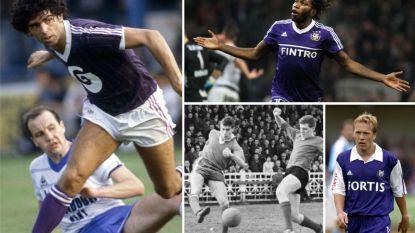 Elf voorgangers van Kompany die, met wisselend succes, terugkeerden naar Anderlecht