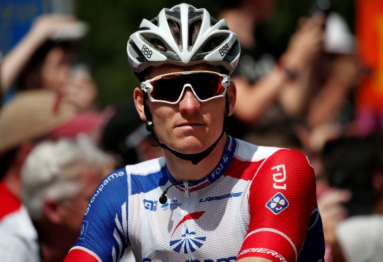 Arnaud Démare won in Turijn.