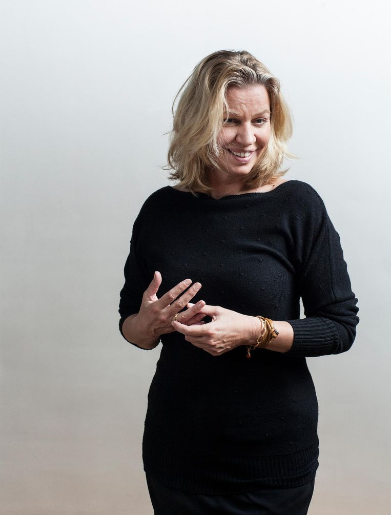 'Elke generatie heeft het recht om onbelast door het verleden te beginnen aan zijn eigen leven' Beeld Friso Keuris