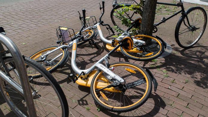 Het is toch nog niet voorbij voor de deelfiets in Amsterdam