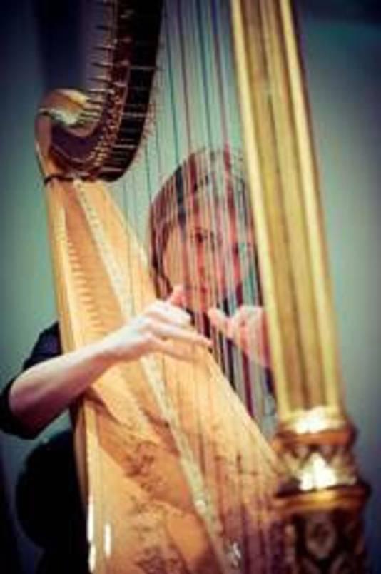 Harpiste Marieke Schoenmakers