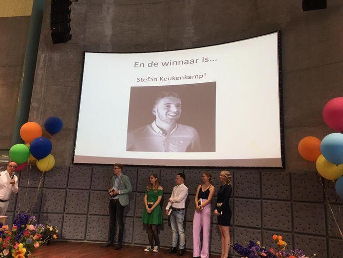 Stefan Keukenkamp wint een prijs voor zijn afstudeerproductie