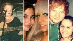 Adele dronk whiskey, Ed Sheeran speelde op straat en Katy Perry was backing vocal: de sterren van nu, voor ze beroemd werden