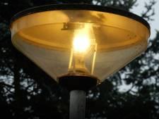 Storing straatverlichting in Hooglanderveen