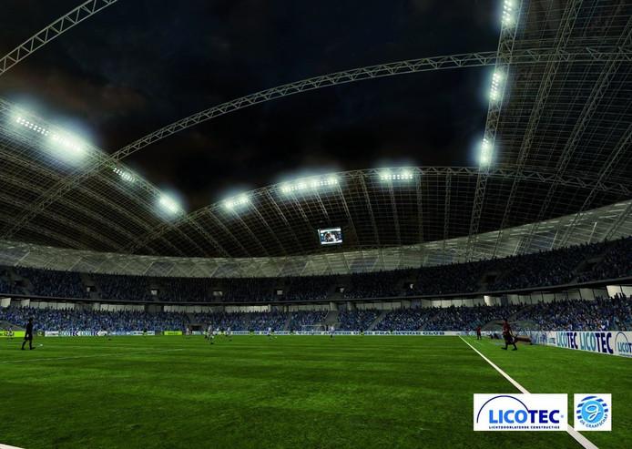 Plan: Stadion De Graafschap In Vorm Van Tractorband