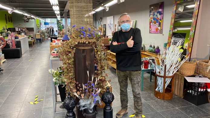 Willy Van Geirt is klaar voor de heropening van Oud&Nieuw