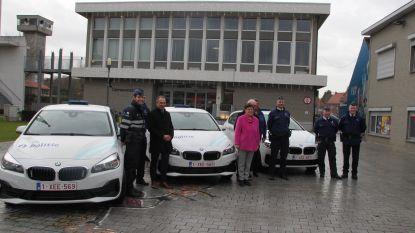 Drie gloednieuwe hybride BMW's voor wijkdiensten PZ Vlas