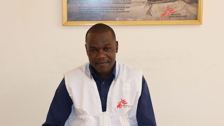 Hassan Maïyaki, hoofd Artsen zonder Grenzen in Burkina Faso. Beeld Artsen zonder Grenzen