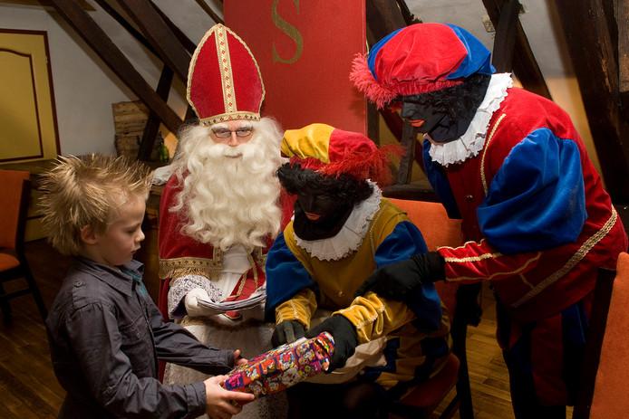 Alle jaren komt Sint in Aalten.
